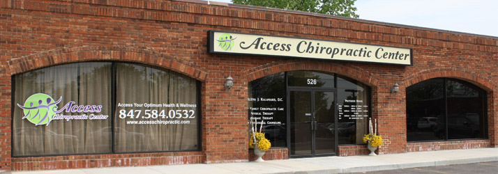 Chiropractic Schaumburg IL Outside Office